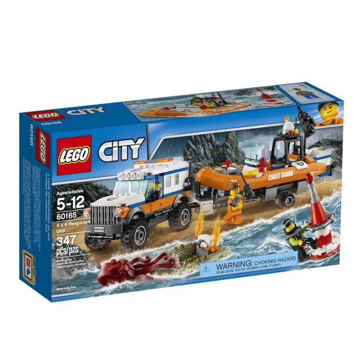 LEGO City Coast Guard 4 x 4 Response Unit (60165)