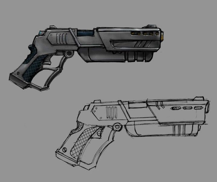 32 best images about Futuristic Guns on Pinterest