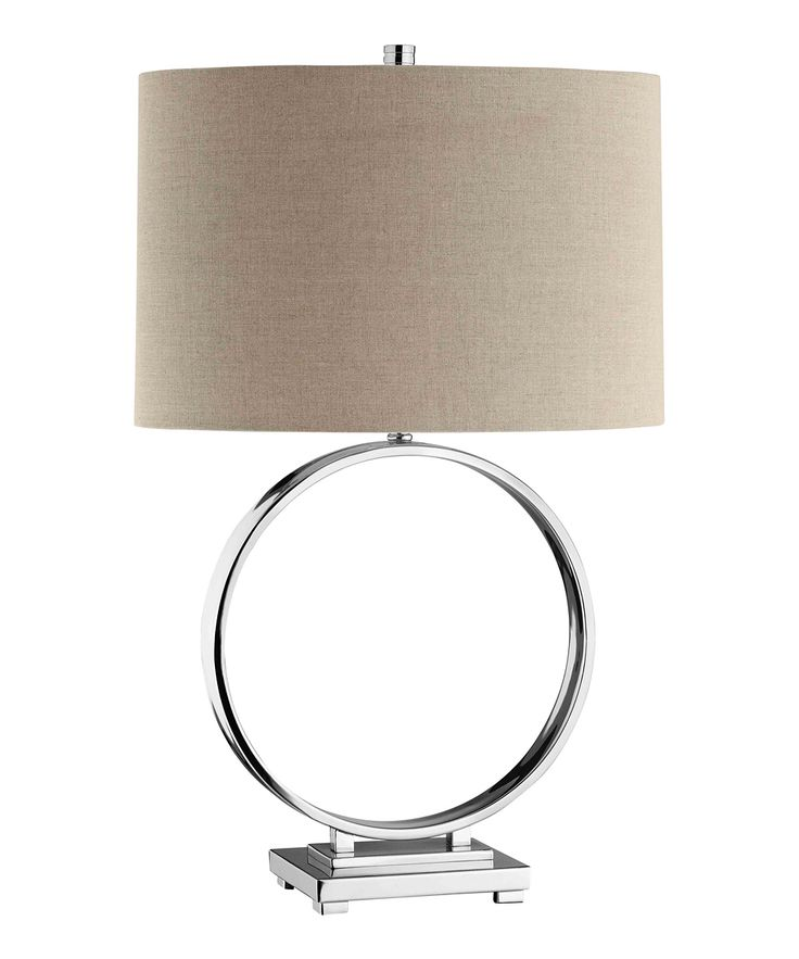 Open Circle Table Lamp