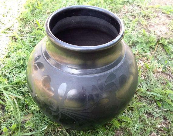 Hungaian folk art vase from Hungary