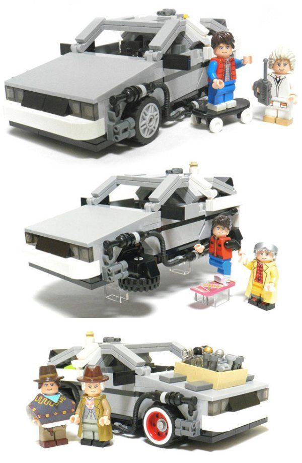 Consider this Back to the Future Lego set added to my wish list. Coming mid-2013.