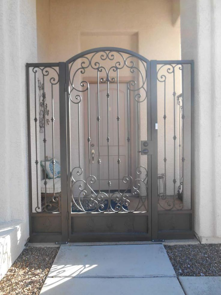 Ornamental Iron Gates With Images Wrought Iron Gate Designs