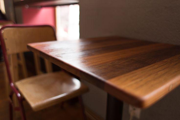 mahogany bar table