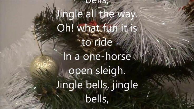 Jingle Bells with Lyrics | Christmas Carol & Christmas tree