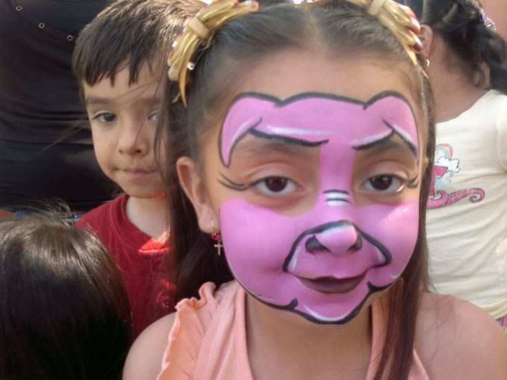 best 25 pig face paint ideas on animal faces kids