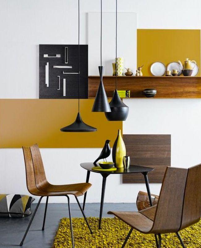 33++ Deco salle a manger jaune ideas