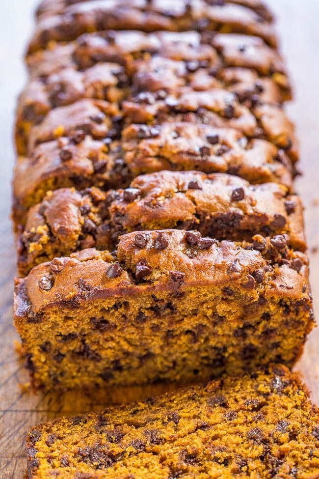 The Best Pumpkin Chocolate Chip Bread | Averie Cooks | Bloglovin'