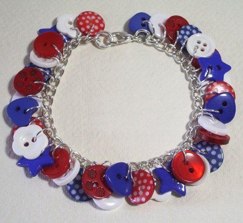 Gorgeous charm bracelet from Noodlefish Crafts