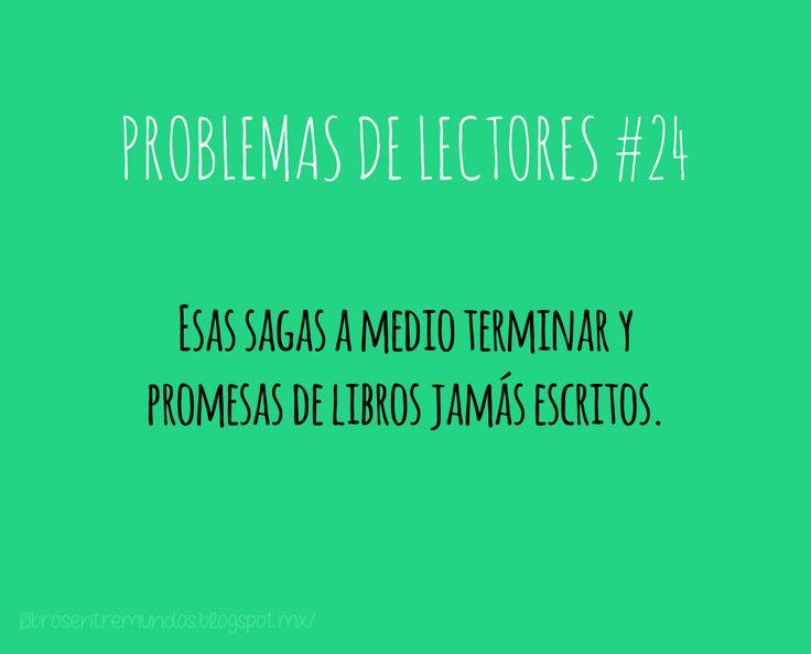 PROBLEMAS DE LECTORES #24 Esas sagas a medio terminar y promesas de libros jamás escritos