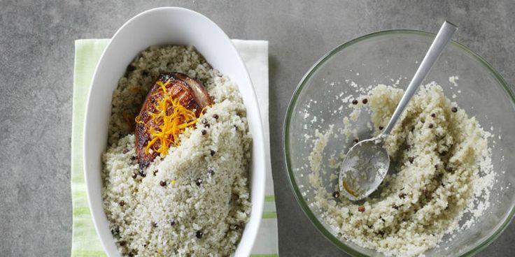 Réussir la cuisson en croûte de sel