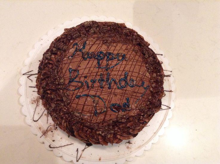 Happy Birthday Dad ALL CHOCOLATE