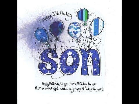 Happy Birthday Wishes - Happy Birthday My Son Whatsapp Status