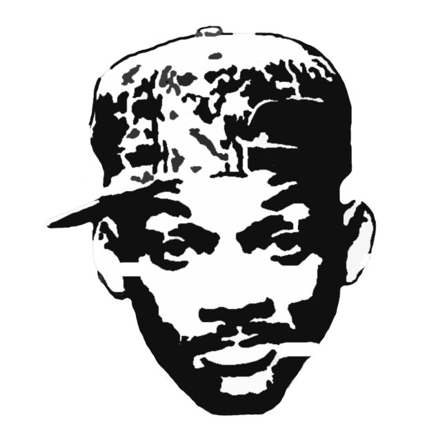 Fresh prince stencil template templates