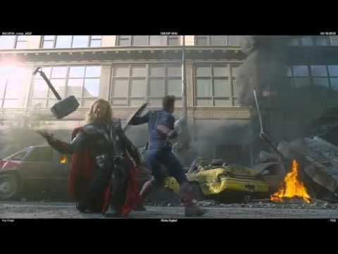 Avengers Blooper: Thor Dropping his Hammer, Haha so cute and funny XD  Thor can do aegyo!