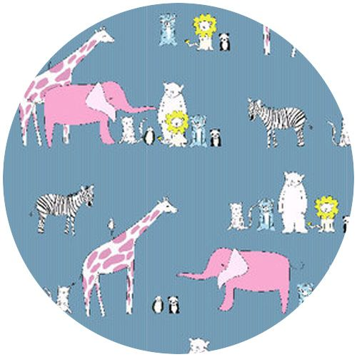 Creative Thursday, Zaza Zoo, Menagerie Blue