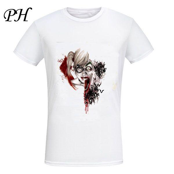 Harley Quinn Joker Printed 3D  T-Shirt //Price: $23.37 & FREE Shipping //     #dccomics  #cosplay  #catwoman #comiccon #comics #love #quinn #justiceleague #makeup