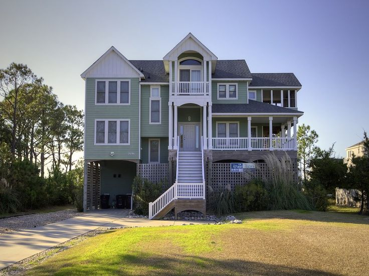42 best obx houses images on pinterest outer banks for 6 bedroom homes
