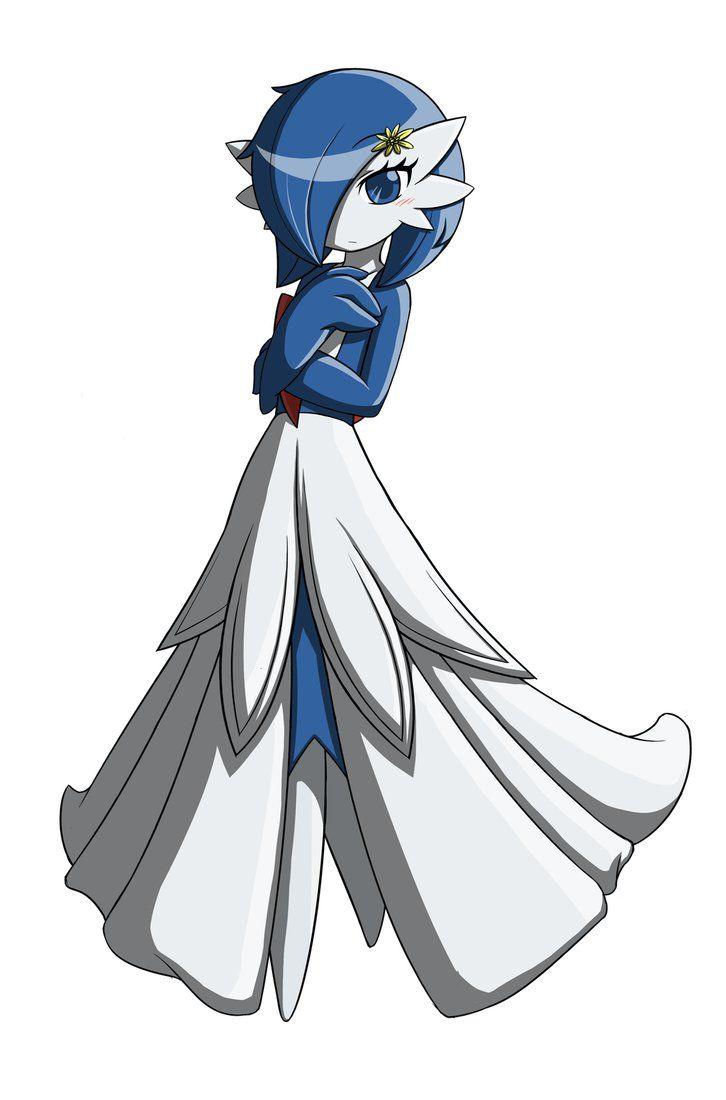 Gardevoir joy studio design gallery best design - I Like This Style Gardevoir It S A Shiny Sort Of Except It S Dresses White Not Black