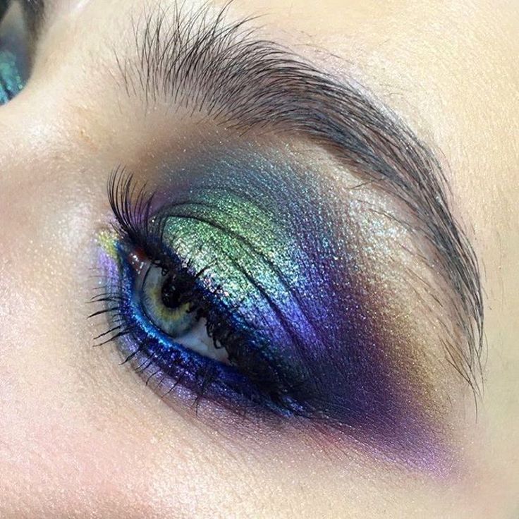 """175 Likes, 13 Comments - Школа макияжа FaceTime СПб (@sofia_baburina) on Instagram: """"Буйство цвета. Сегодня повторяла макияж за Ольгой Томиной. Это оказалось очень увлекательно. Только…"""""""