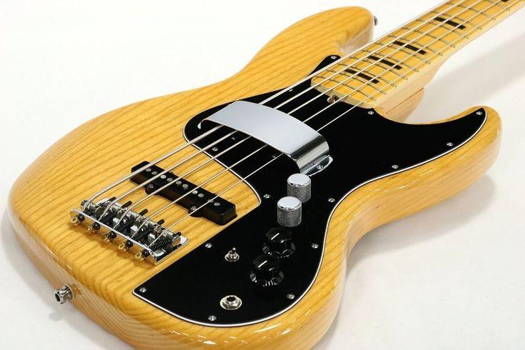 Fender USA Marcus Miller Jazz V Natural, Electric Bass guitar, m1282 #Fender