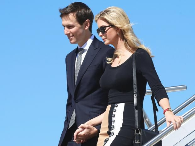 Sanctioned Russian bank admits meeting Donald Trump's son-in-law Jared Kushner in December  Vnesheconombank confirms it met with husband of Ivanka Trump as accusations of outside interference in last November's election continue to dog Trump