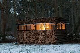 Outdoor Sauna w/Lincoln Logs