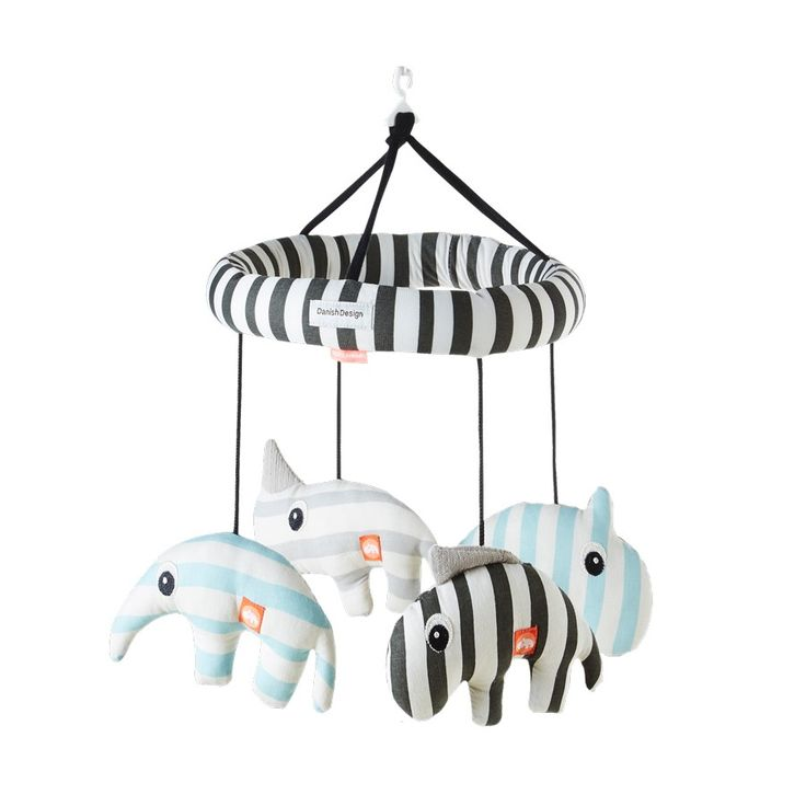 Spieluhr & Mobile Blau Done by Deer - Kleine Fabriek