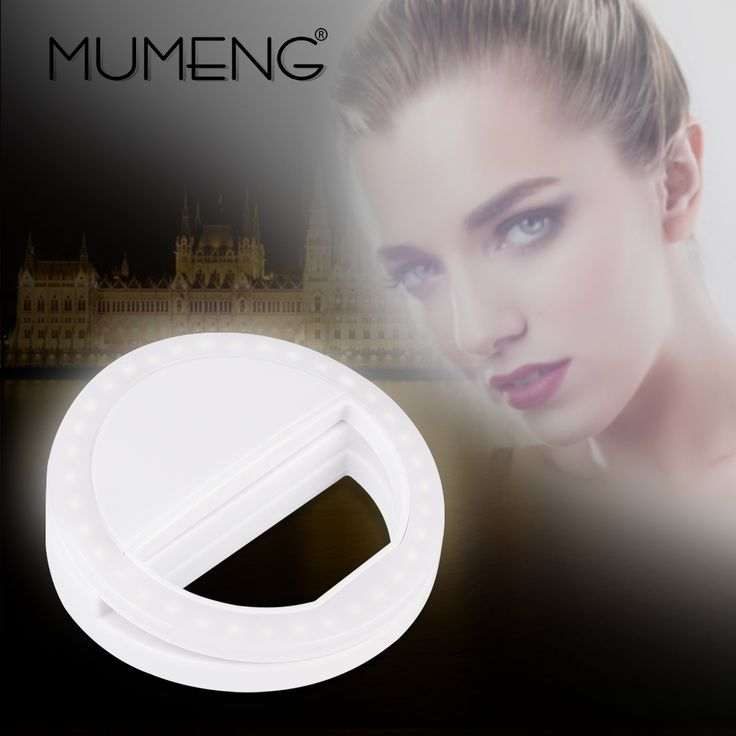 MUMENG LED  Fill Light USB Universal Selfie Flash Night Photography Selfie Ring Flash Photo Selflife lamp for Smart Phone Batter #Affiliate