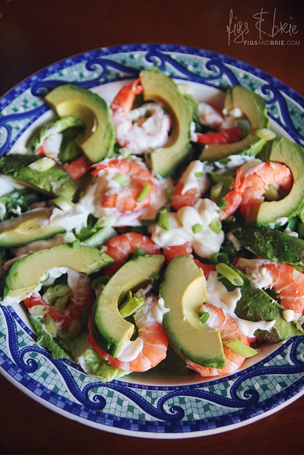 Prawn and avocado salad yummo