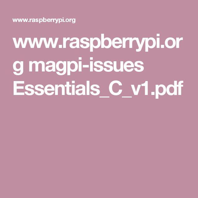 www.raspberrypi.org magpi-issues Essentials_C_v1.pdf                                                                                                                                                                                 Mais