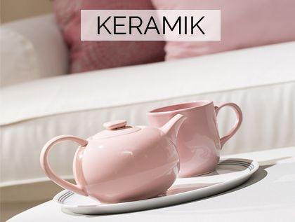 Süße #Teekanne in #Pastellrosa