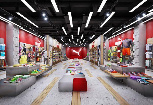 PUMA STORE DESIGN on Behance | Store design boutique, Store design ...