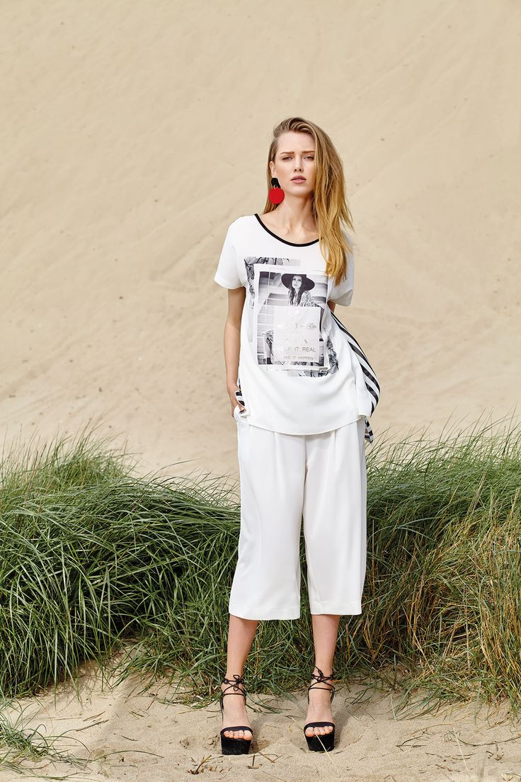 This summer white cullottes are the perfect fashion inspiration to replace your jeans!