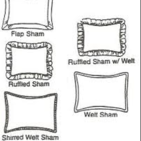 Pillow Sham Types Upholstery Trends Upholstery Cushions