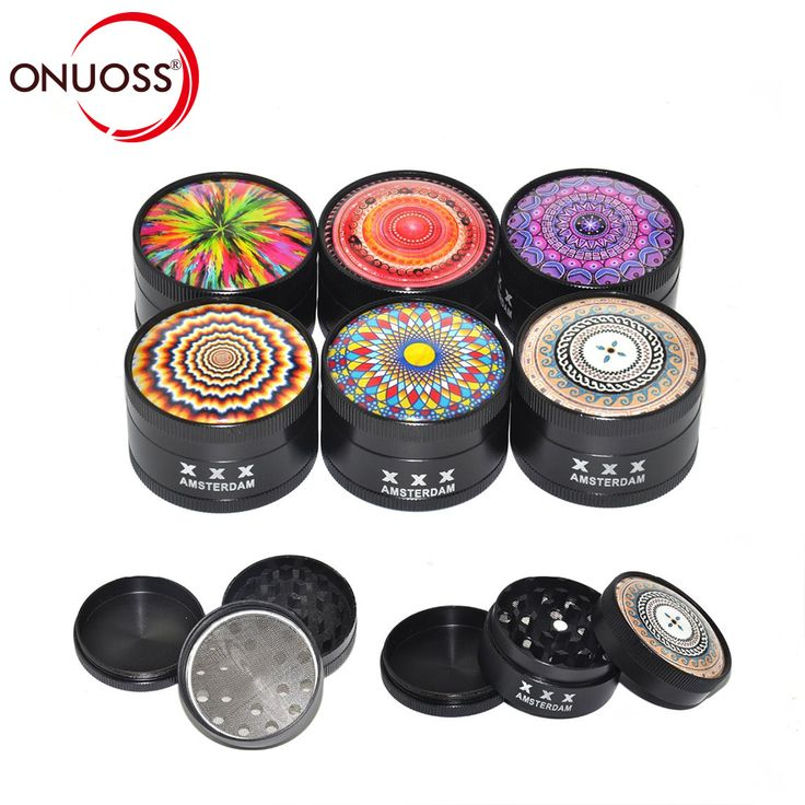 ONUOSS 3 Layers Multi Design Metal Machine Tobacco Grinder Spice Crusher Smoke Narguile 50mm Smoking Accessories JL-270J //Price: $ , & FREE Shipping // #grinder #maryjane #high #stoner #chill #smoke #joint #420 #pot  #herb #grass #kush