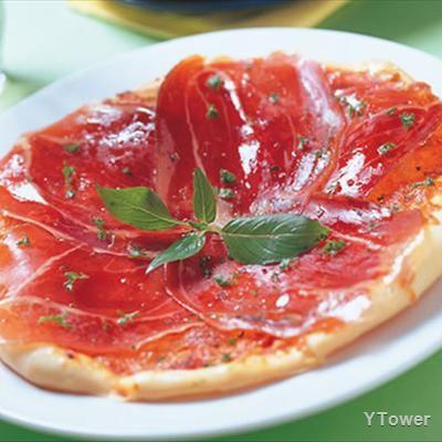 【食譜】帕瑪火腿起司披薩:www.ytower.com.tw   Recipe   Just pizza, Ham and cheese, Recipes