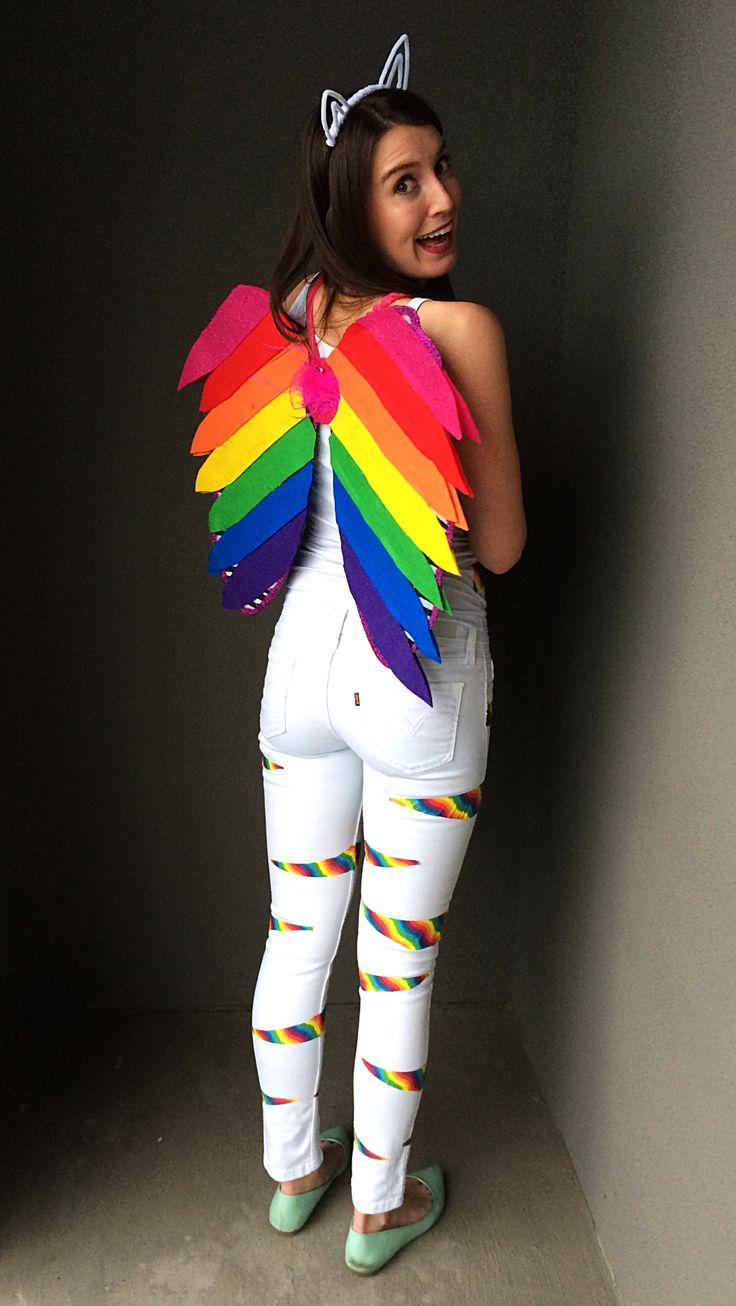 DIY Lisa Frank Rainbow Kitten Costume by Bunny Baubles Blog 3