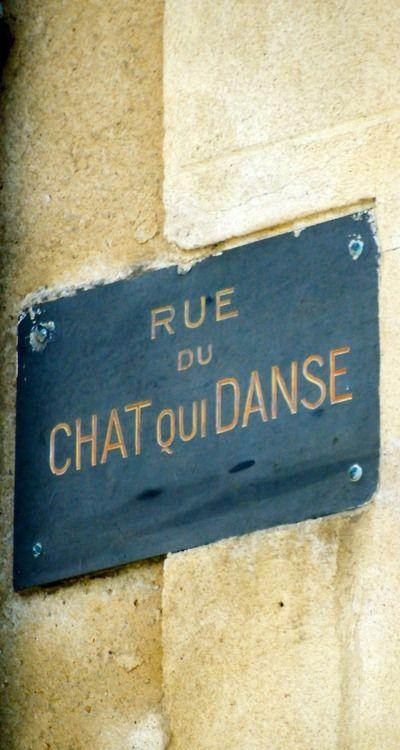 """ ""Rue du chat qui danse""  (Street of the dancing cat,) Saint-Malo, Bretagne, FRANCE """