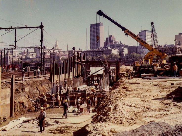 City Loop Construction - Jolimont Yards