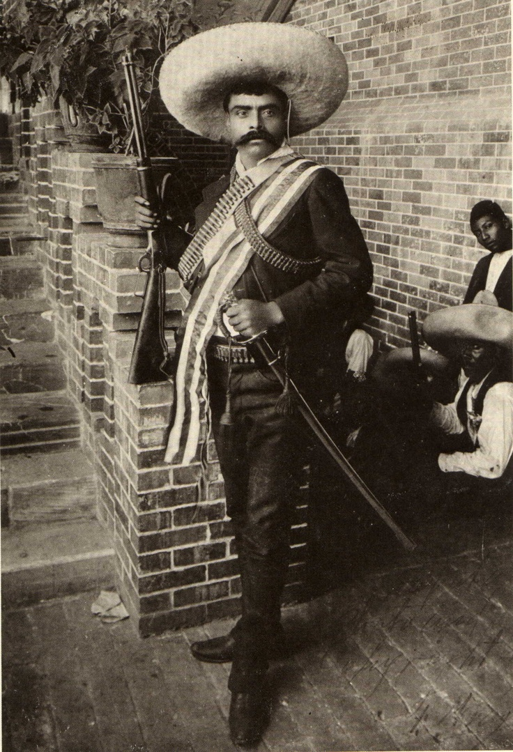 write a biography of two figures of the mexican revolution photos