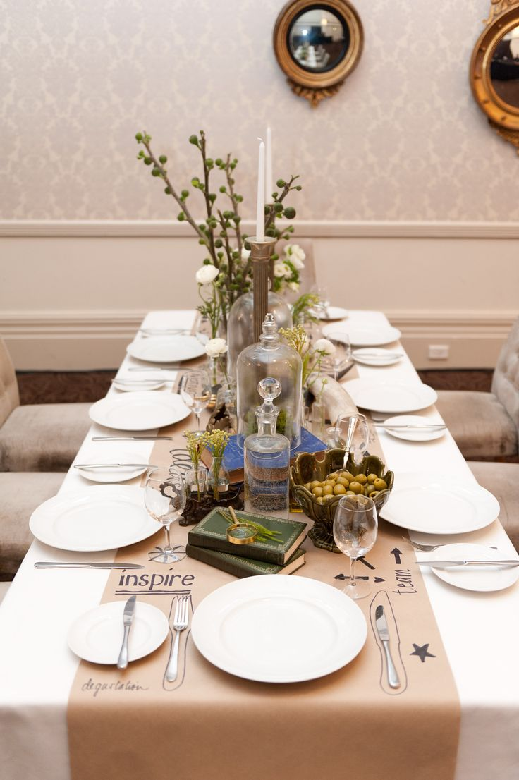 Table Setting by @azbcreative