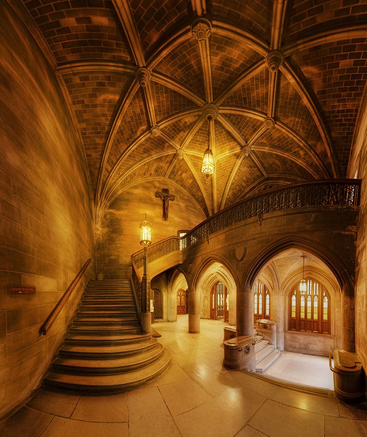 Univ. of Chicago Theological Seminary ribbed vaults