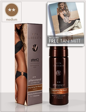 Phenomenal 2- 3 week self tanning mousse | Vita Liberata