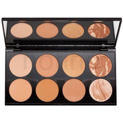 Makeup Revolution Ultra Bronze arckontúr paletta | notino.hu