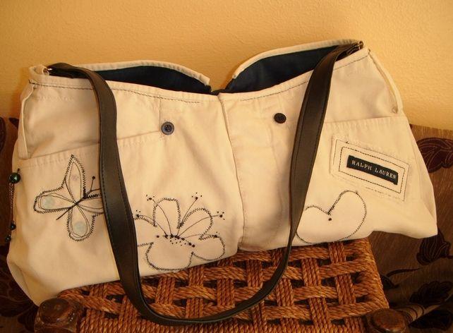 Handbag - up-cycled and designer £25.00