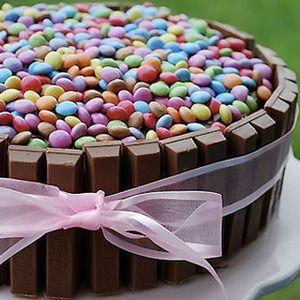 Tarta de cumpleaños para niños - Bizcochos y Tartas - Recetas - Charhadas.com