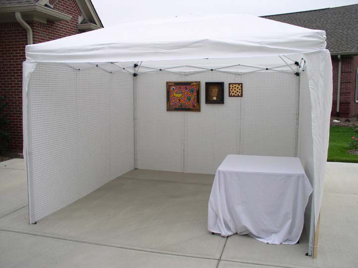 Tent Display And Spaces On Pinterest