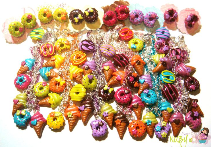 Ice cream n donuts sets by colourful-blossom.deviantart.com on @deviantART