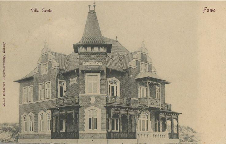 Fanø. Villa Senta. 1905 - Emnenummer 173994 - DFF frimærkesalg - Frimærker og postkort