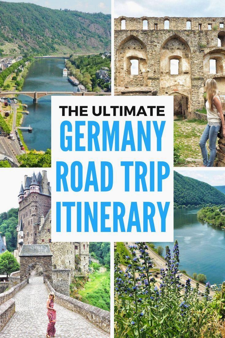 10 Day Germany Road Trip Itinerary Spring Break Ideas Road Trip